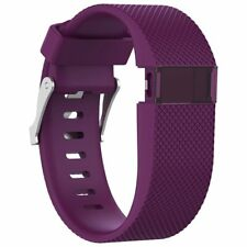 Large Size Replacement Silicone Soft Strap Wristbands For Fitbit Charge HR Watch