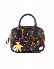 BORSA PIERO GUIDI MAGIC CIRCUS BORSA A MANO DA DONNA NERA