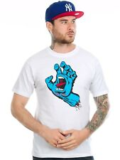 T-Shirt Santa Cruz Screaming Hand Bianco