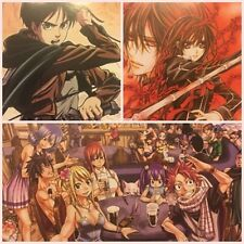 Sammelkarten Set Anime *Attack on Titan*Final Fantasy*Bleach*Vampire Knight*...