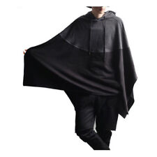 Hot Men's capuche manteau cape poncho manteau pull pulls Manteau chandails