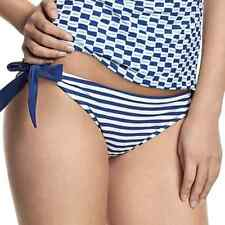 Cleo Lucille Tie Side Brief in Nautical Print (0068)