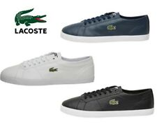 Mens Lacoste Low Profile Riberac Leather Trainers