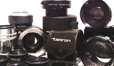 CAMERA - LENS & CONVERTERS some vintage - click - SELECT - to browse or order