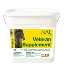 Natural Animal Feeds Naf Veterano Suplemento