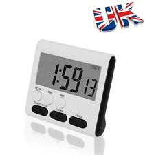 Kitchen Magnetic LCD Digital Timer Count UP Down w/ Loud Alarm Cooking Props New