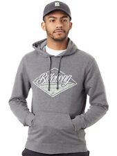 Felpa con Cappuccio Billabong T-Street Dark Grigio Heather