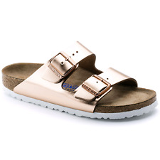Birkenstock Arizona SFB Sandali Donna 952093 Metallic Copper