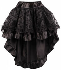 GONNA DONNA NERO GOTHIC STEAMPUNK Vittoriano GONNA VINTAGE PUNK GONNA