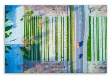 Road  Nature Canvas Abstract Suburbia Landscape Wall Art Picture Home Decor