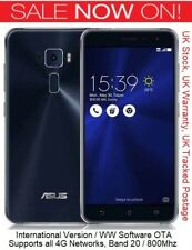 "NEW Asus Zenfone 3 ZE552KL 5.5"" Snapdragon 625 16MP Camera Europen Version"
