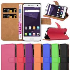 ZTE Blade V8 Case ,Leather Wallet Flip Book Stand View Case Cover