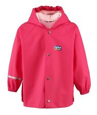 Rukka of Finland baby and toddlers' rain jacket Fuchsia Pink, ages 12-36 months