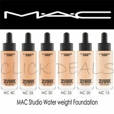 MAC Studio Waterweight SPF 30 Foundation-NC,15,20,25,30,35,40
