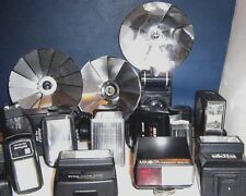 USED * CAMERA FLASH UNITS ~1960/2000 ~ click on - SELECT - to browse or order