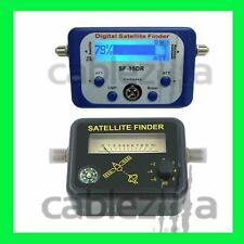 Satellite Finder,Signal Strength Meter, FTA DIRECTV Dish alignment COMPASS Analo