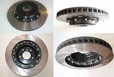 NÜR 2-PIECE BRAKE DISCS ROTORS SLOTTED 330x28mm BOLTED OR FLOATING ALL MODELS