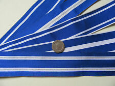 IFOR, ISAF, Kosovo, Macedonia etc. NATO  Replacement Medal Ribbon, x 1 Metre
