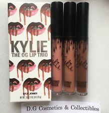 Kylie Jenner The OG Lip Trio Set Liquid Lipstick, Candy K, Dolce K, True Brown K