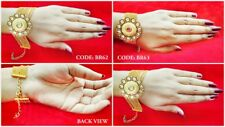 Daphne Gold Plated Classic Kundan Bracelets For Women Wedding Special