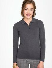 Damen Long-Sleeve Piqué Polo Shirt Perfect | SOLs