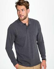 Herren Long-Sleeve Piqué Polo Shirt Perfect | SOLs