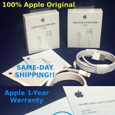 Genuine Apple Lightning Sync & Charger USB Data Cable For iPhone 6 5s 5 iPad Air