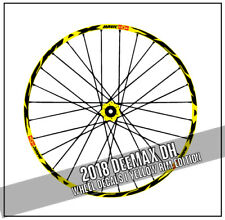 YELLOW RIM DEEMAX DH DOWNHILL style decals mavic bicycle Wheel Stickers Ultimate
