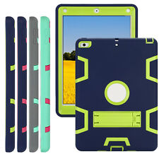 Heavy Duty Shockproof TKF@ Rubber Case Cover for iPad 2 3 4 Mini Air 2 9.7in Lot
