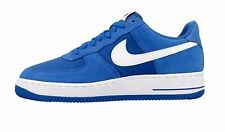 Men's  NIKE  Air Force 1 Shoes Trainers 820266 402 Star Blue/White