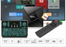 Android 7.1 TX9 Pro 4K Octa Core 32GB TV Box+Wireless RPG Color Backlit Keyboard