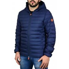 Giubbotto uomo save the duck d3065m dull 5 navy blue