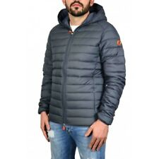 Giubbotto uomo save the duck d3065m dull 5 charcoal grey