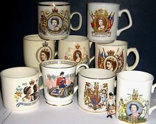 UK ROYAL COMMEMORATIVE CUPS & OTHER 1953/2002 click on SELECT to browse or order