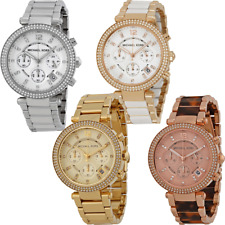 Michael Kors Parker Chronograph Ladies Watch - Many Styles