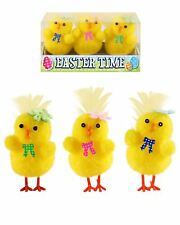 Easter Party Yellow Chicks 3 Assorted 4 Cm Fancy Parties Decoration Accessories