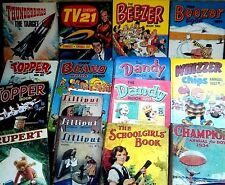 COLLECT UK VINTAGE ANNUALS 1930/80 ~ click on SELECT to browse or order