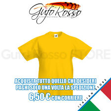 Fruit of the Loom 61-033-0 valueweight kid - GIALLO Sunflower - T-Shirt M/C.