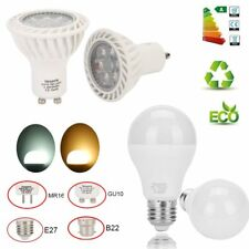 E27 MR16/G5 GU10 7W 9W 12W AC/DC 12V LED Corn Bulb Lamp Light Bright 110/220V uk