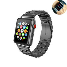 new Stainless Steel link Bracelet Smart Watch band for apple watch 42mm 38mm