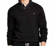 Polo Ralph Lauren Men's Pima V-Neck Pullover lightweight Sweater MSRP $98.50 New