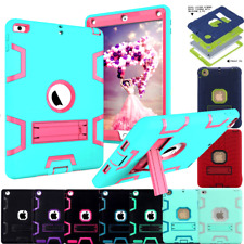 HYBRID SHOCKPROOF HEAVY DUTY STAND CASE COVER LOT FOR iPad 2 3 4 Mini AIR 2 9.7