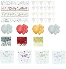 ANNIVERSARY PARTY BANNERS 25 40 50 60 WEDDING ANNIVERSARY DECORATIONS (SE)