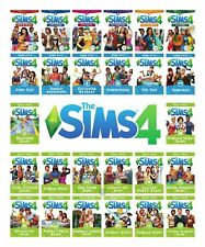 THE SIMS 4 EXPANSIONS, GAME AND STUFF PACKS PC AND MAC ORIGIN KEYS