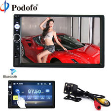 "Podofo 2 din car radio 7"" HD Player MP5 Touch Screen Digital Display Bluetooth"