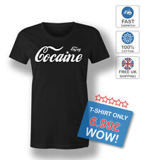 Enjoy Cocaine DIVERTENTE MODA Tumblr SWAG DOPE T-Shirt