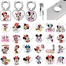Cartoon Mickey Mouse Metal Finger Ring Grip Stand Holder For Cell Phone Tablet