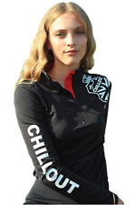 Chillout Horsewear Womens UV Base Layer - Black