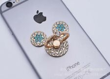 360 Rotating Finger Ring Stand Holder For Cell Phone / Tablet - CRYSTAL MICKEY