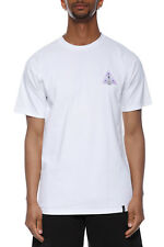 Huf Disaster Ops Triple Triangle Tee T-Shirt Uomo TS00322 WHT White
